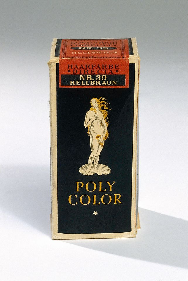 Historic poly color product packaging